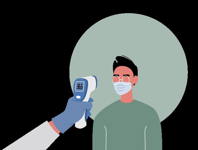 Medindo a febre do trabalhador