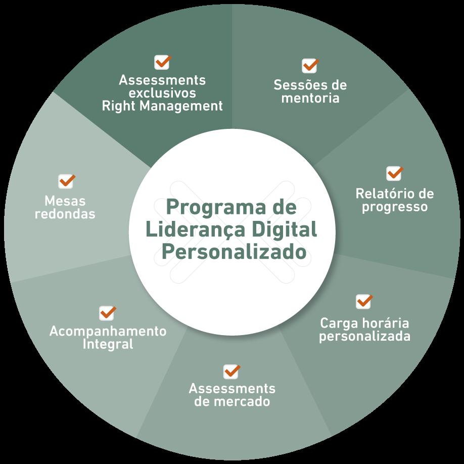 Programa de Liderança Digital personalizado